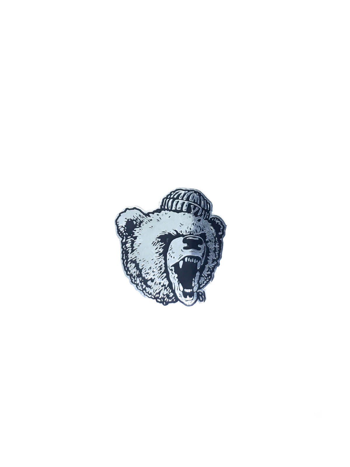 Raging Bear Pin