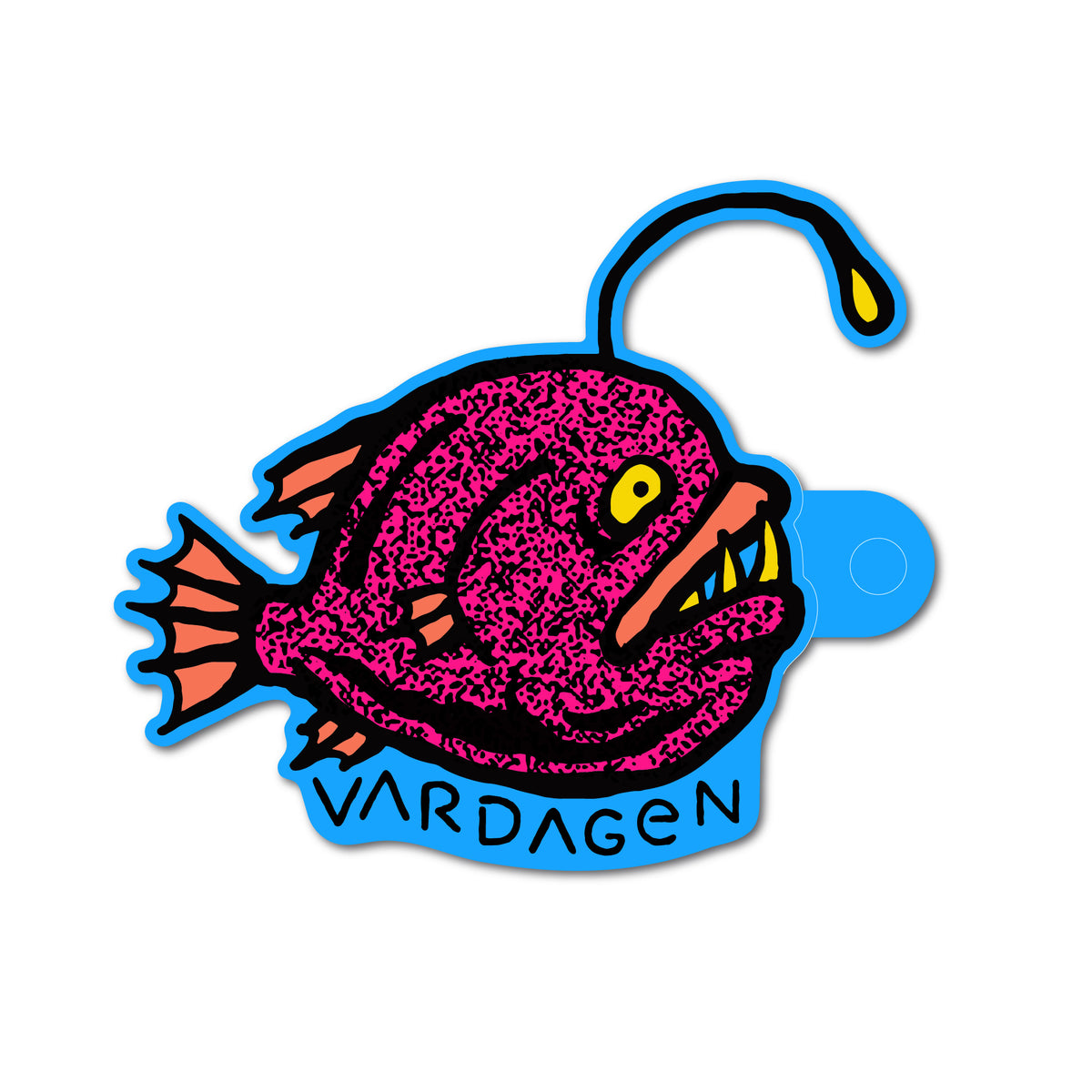 Angler Fish Sticker