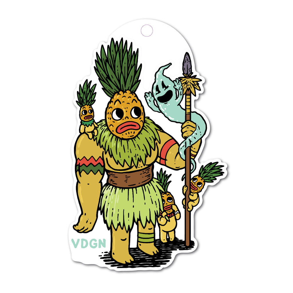 Pineapple Guardian Sticker