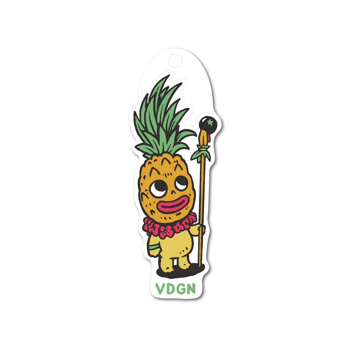 Pineapple Spirit Spearman Sticker