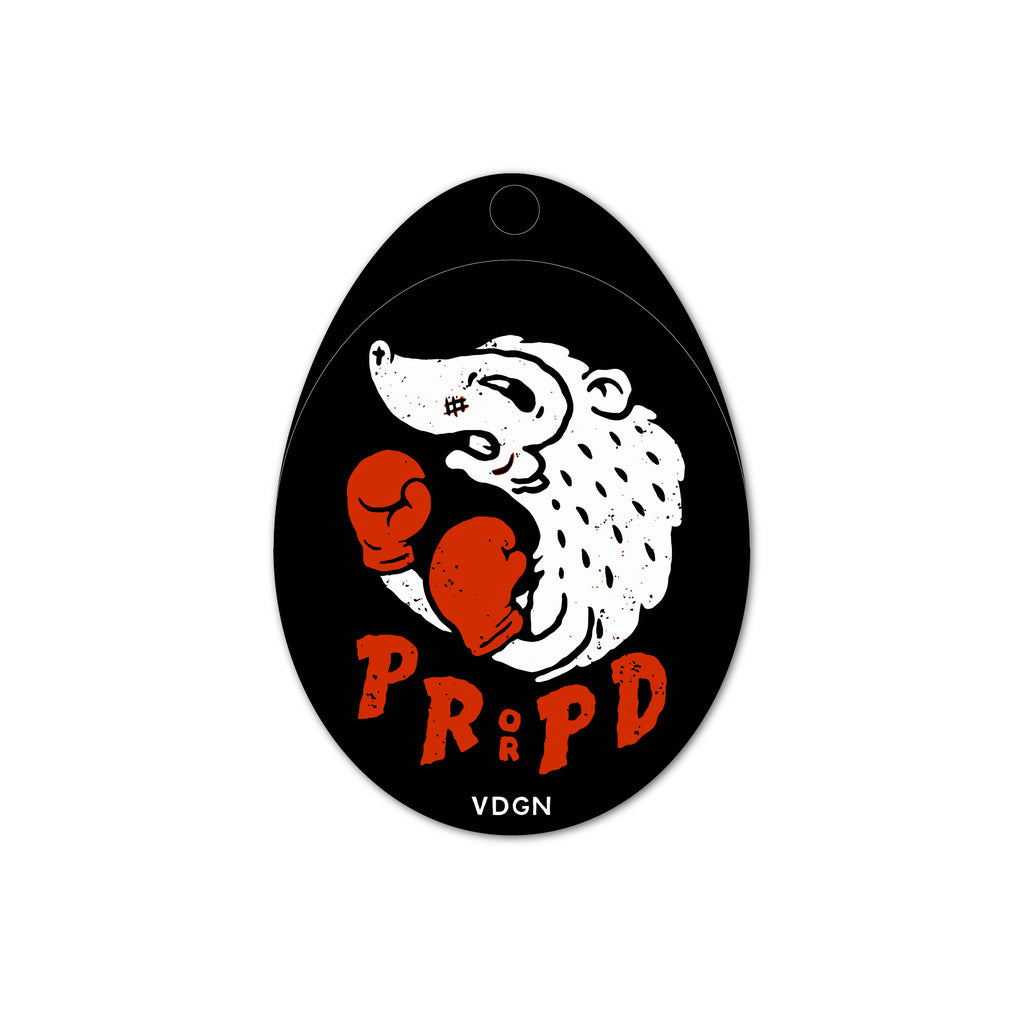 PRPD Boxer Sticker