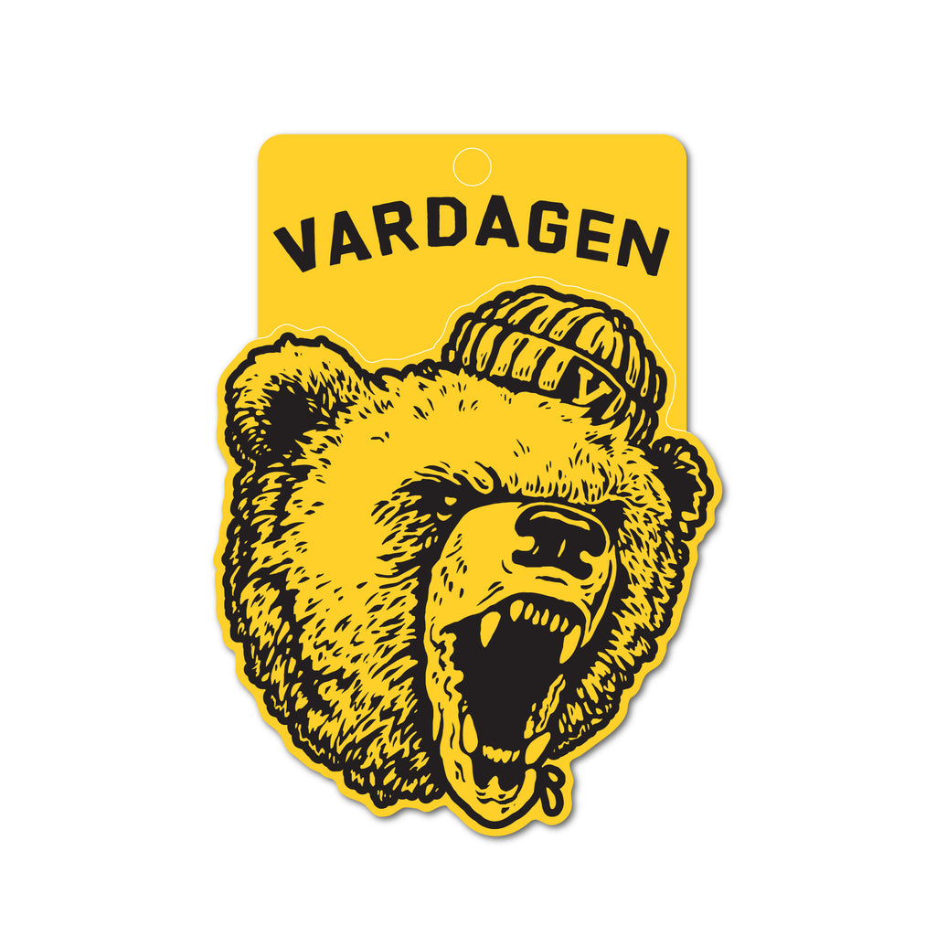 Raging Bear Sticker