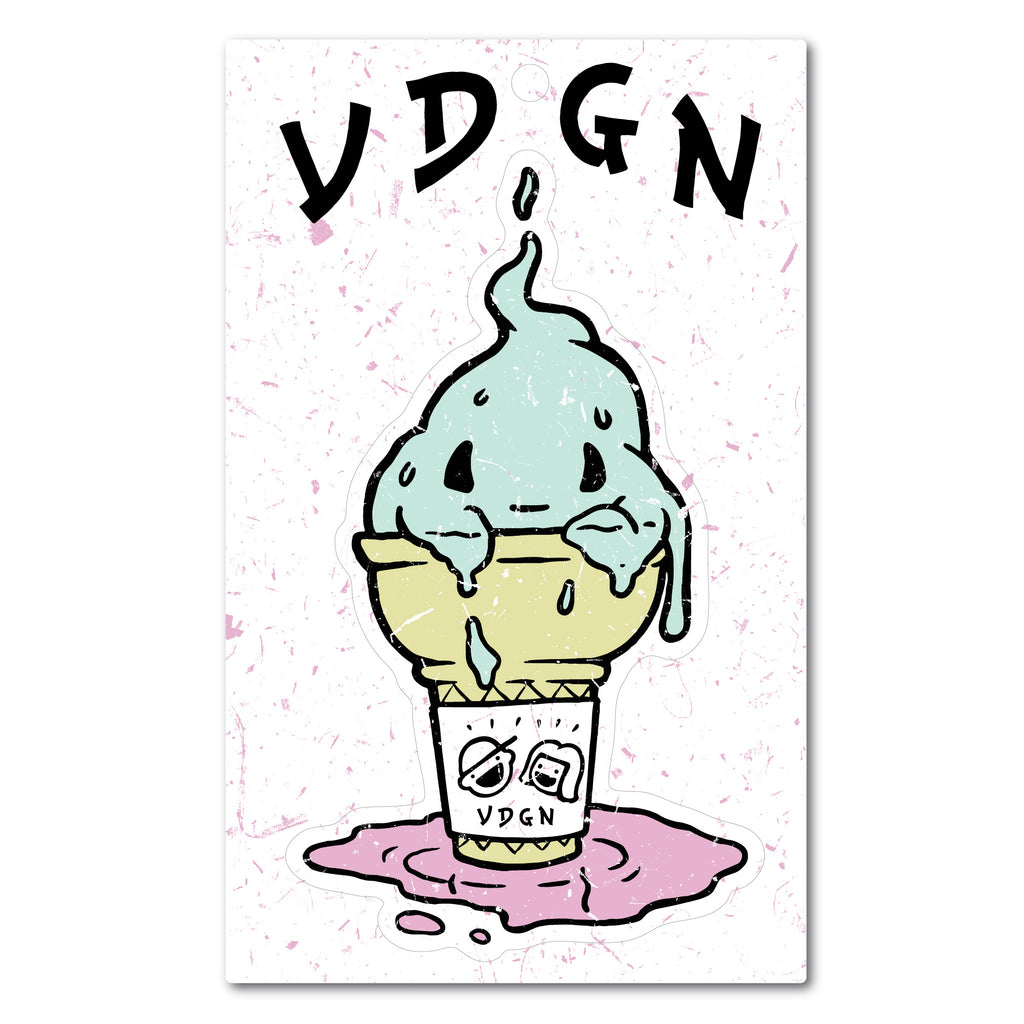 The Spirit Of Ice Cream Sticker