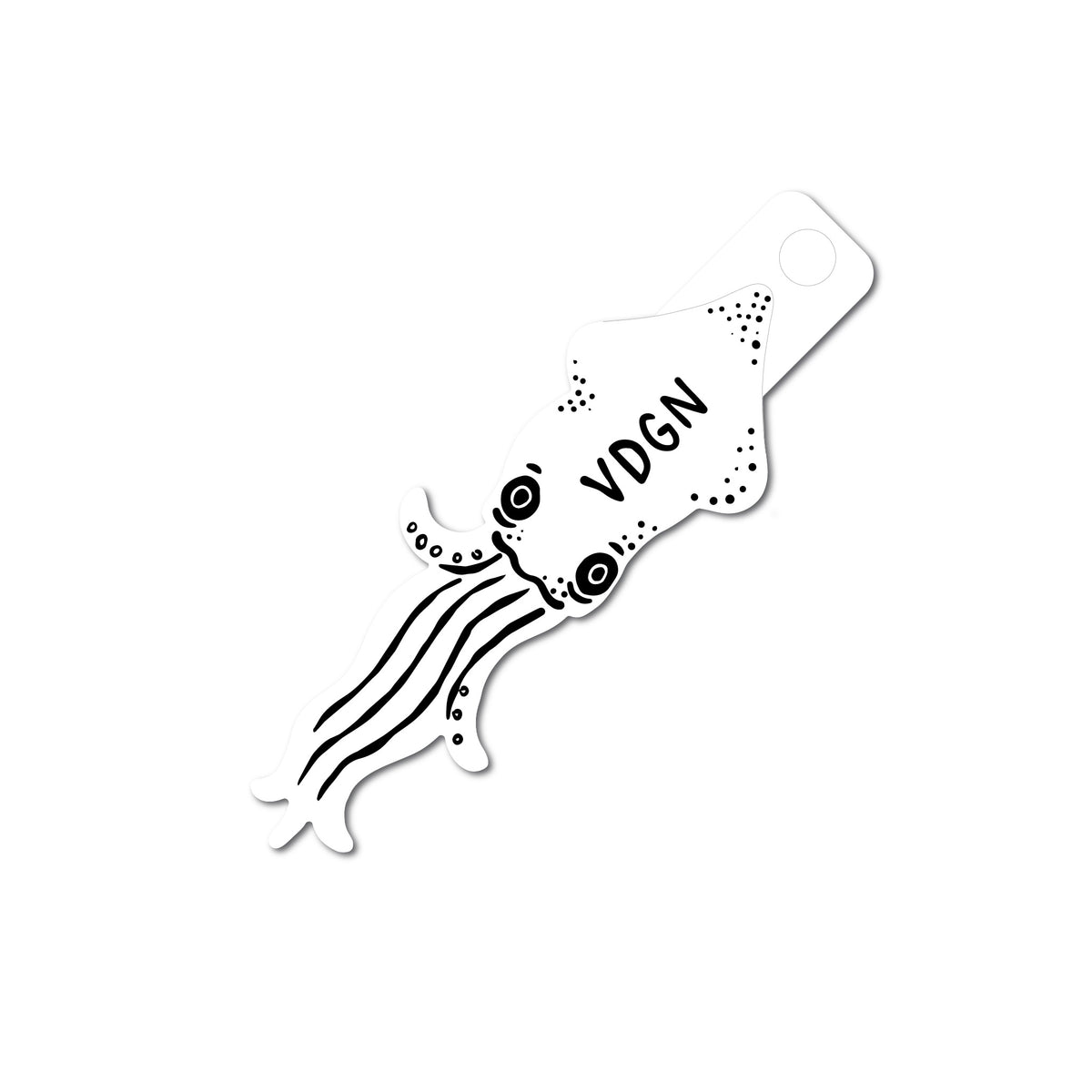 Sign Squid Sticker