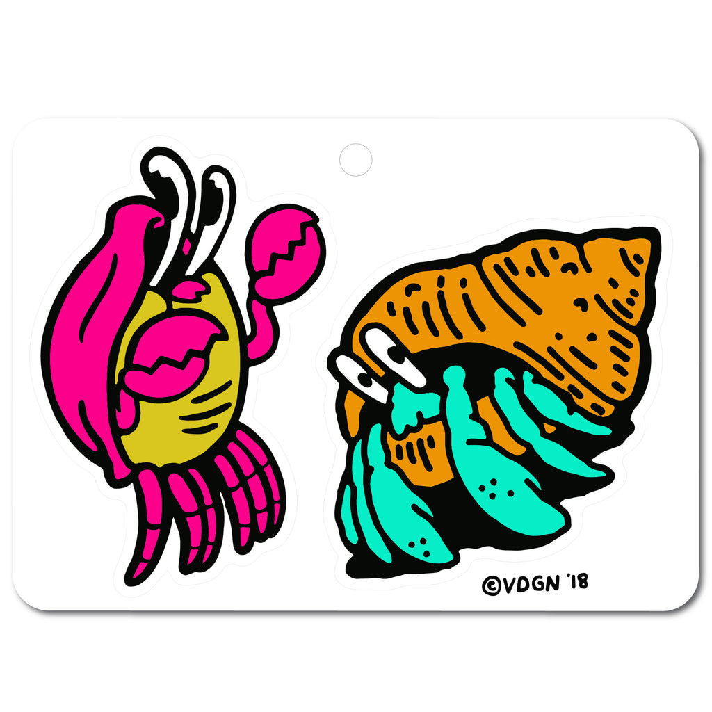 Crabby Sticker Sheet