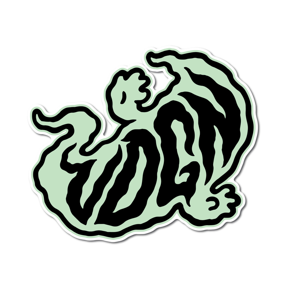 Ghost Logo Sticker