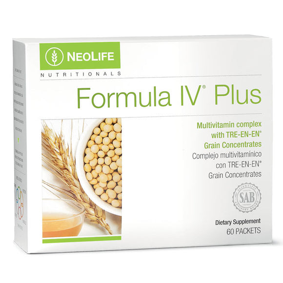Formula IV Plus - Multivitamin - NeoLife Vitamin Shop