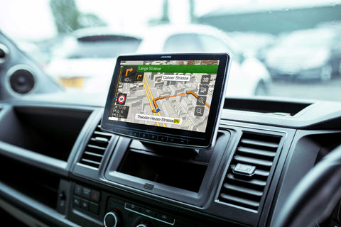 "INE-F904T6R - 9"" Navigation Station for VW Transporter"
