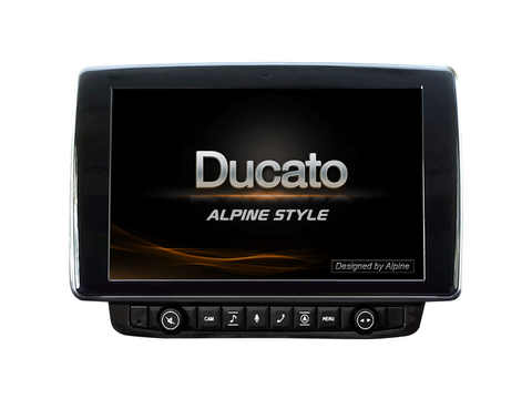 "X903D-DU - 9"" Navigation System for Fiat Ducato 3, Citroën Jumper 2 and Peugeot Boxer 2"