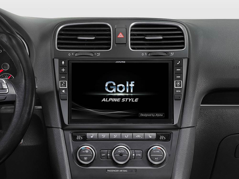 "X903D-G6 - 9"" Navigation System for VW Golf 6"