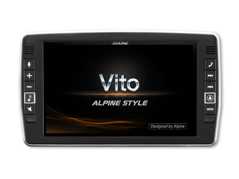 "X903D-V447 - 9"" Navigation System for Mercedes Vito (447)"