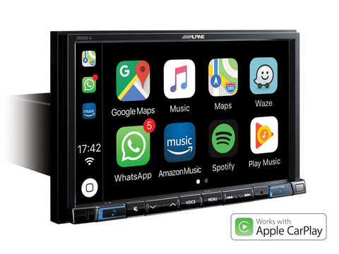 "X803D-U - 8"" Touch Screen Navigation with Apple CarPlay"