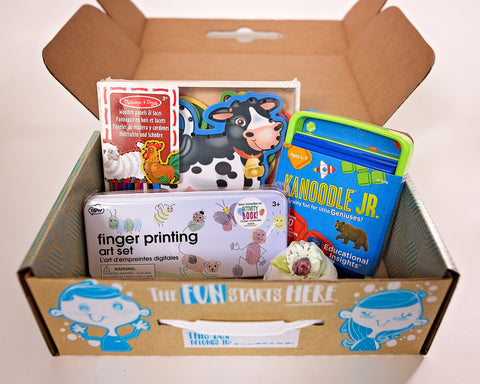 Gender Neutral Kids Box - Ages 3-5