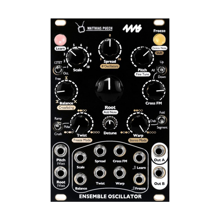 4ms Ensemble Oscillator (EO) (Black)