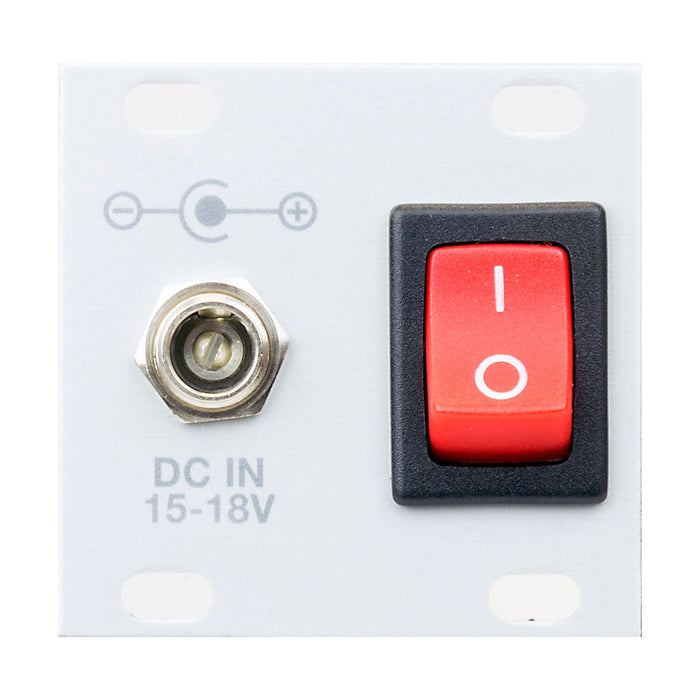 Intellijel designs power entry 1 u (2.5mm, for tps80w)