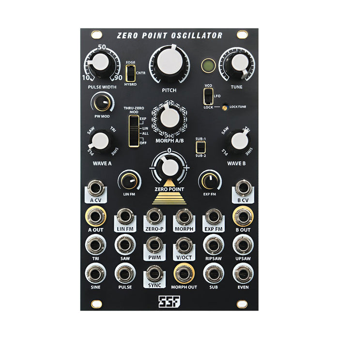 Steady State Fate Zero Point Oscillator (Black and Gold)