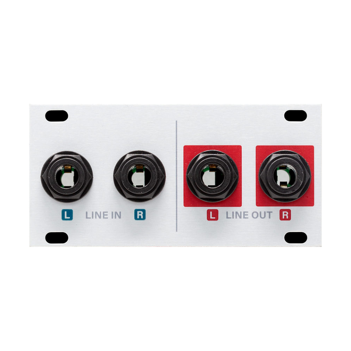 Intellijel Designs AUDIO I/O Jacks 1U