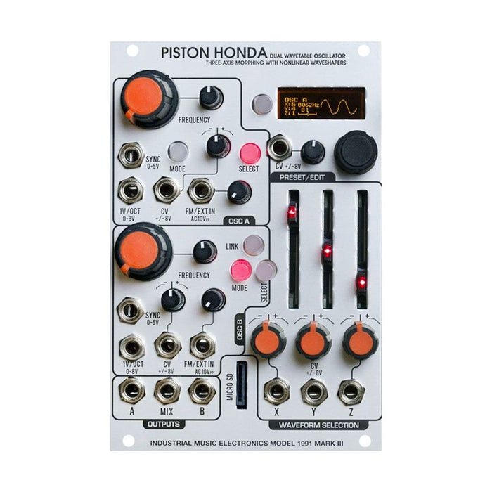 Industrial Music Electronics Piston Honda Mk III (Model 1991-3)