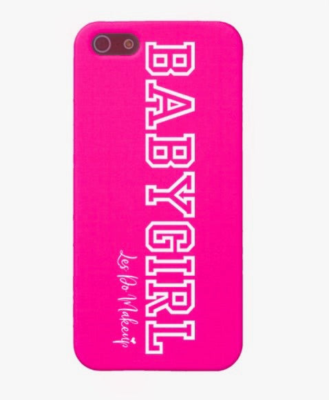 Pink BabyGirl iPhone case
