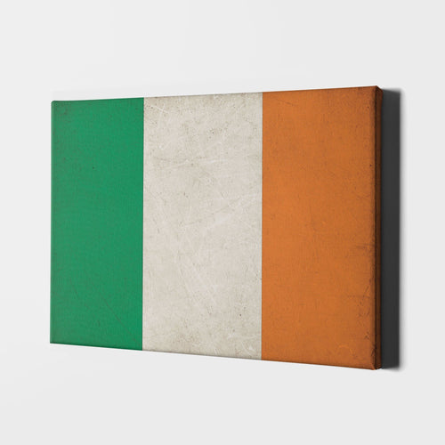 12 X 18 / Canvas Irish Flag
