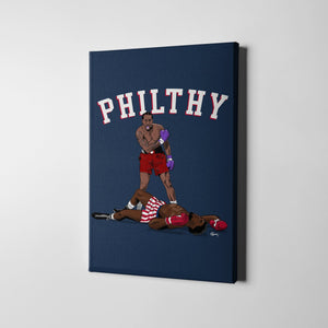12 X 18 / Canvas Philthy