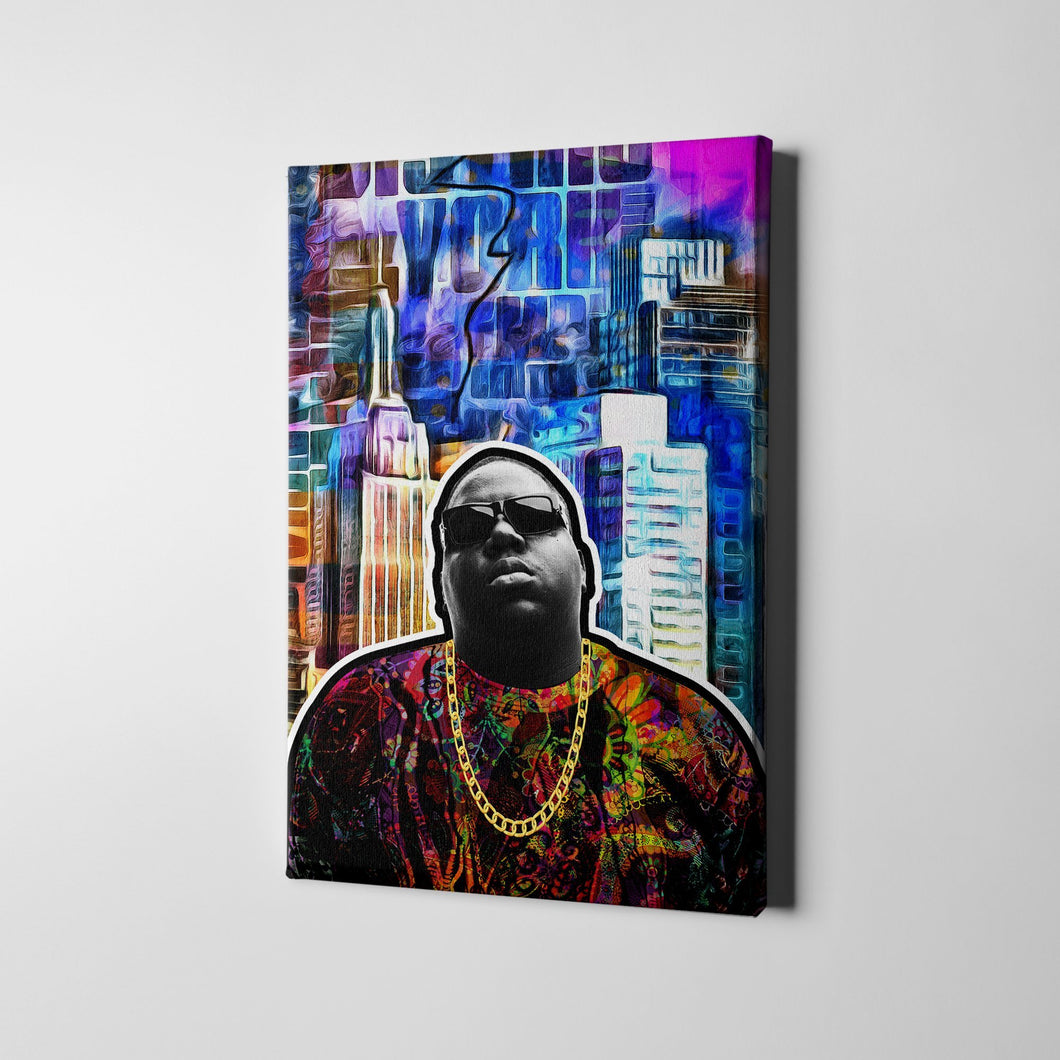 12 X 18 / Canvas The King of New York