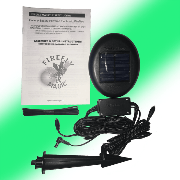 "KIT, FMS-07S1GK, Solar Powered, 7 Green LED's, Plug-In, 9"" X 12"" Bag - FINAL INVENTORY CLOSE OUT"