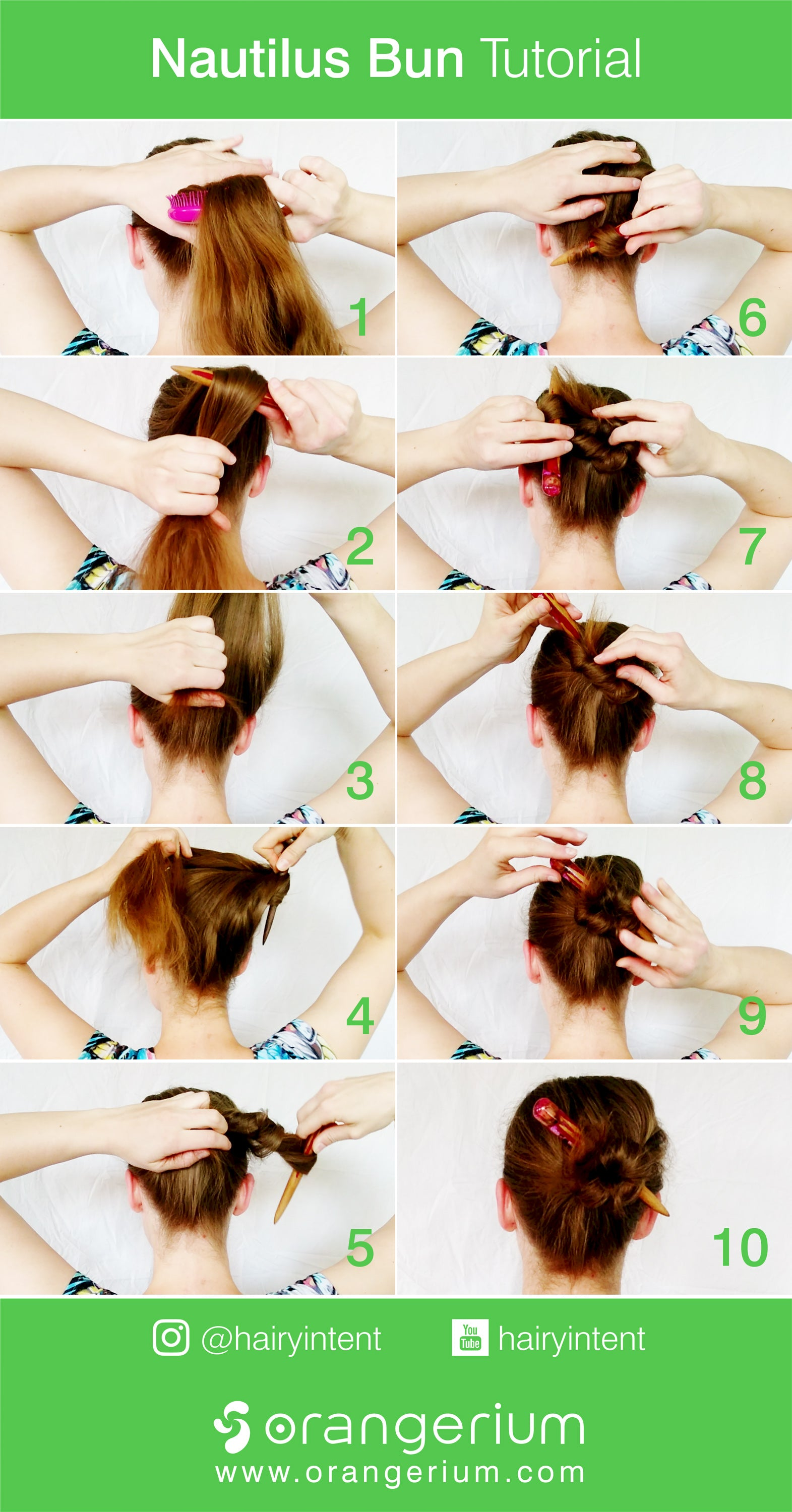 HAIRSTYLE TUTORIALS – Orangerium