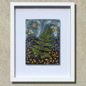 IRISH FOREST - FLORAL WALL ART