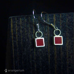 POINT - SILVER EARRINGS