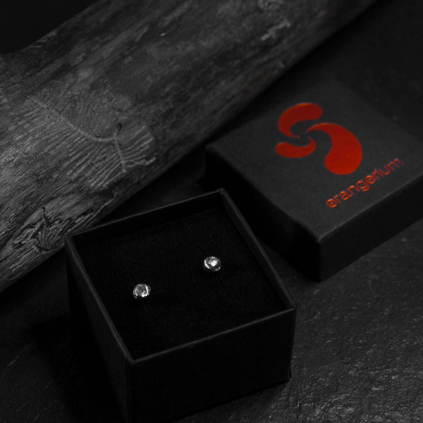 MOON ROCK - STUD EARRINGS