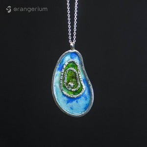 LAYERS - SILVER PENDANT