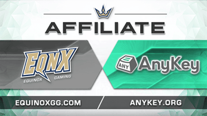 EQNX Gaming partners with AnyKey Org