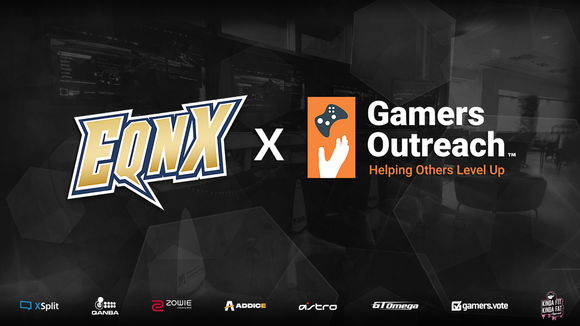 EQNX partners with Gamers Outreach for 2020 Holiday Season