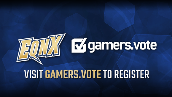 EQNX and Gamers.Vote Partner to Bring Voter Registration Awareness to FGC