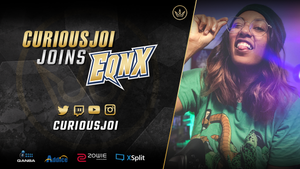 Curiousjoi joins EQNX Stream Team