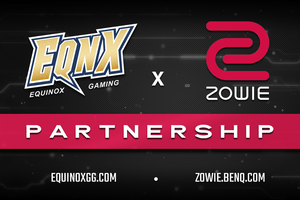 ZOWIE x EQNX Partner Up for 2020