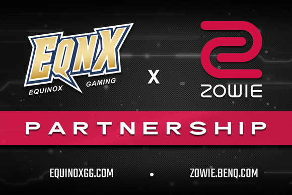 ZOWIE x EQNX Partner Up for 2020 - EQNX