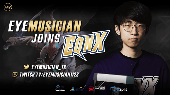 Eyemusician joins EQNX Gaming