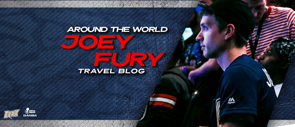 Around the World with JOEY FURY - Travel Blog