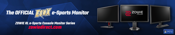 Zowie BenQ USA is the official monitor of EQNX Gaming