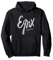 EQNX Fighting - Cement Script Hoodie