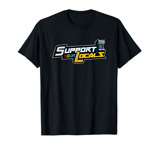 'Support Your Locals' Arcade Tee - EQNX x FGC