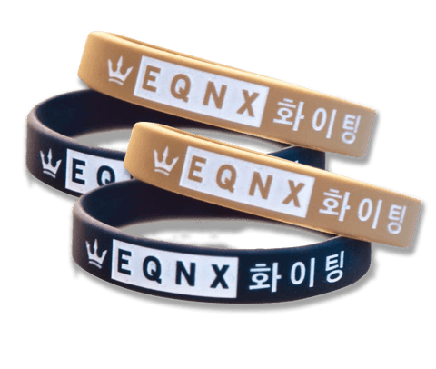EQNX Fighting | EQNX 화이팅 - Silicon Wristband