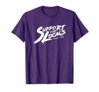 'Support Your Locals' Brush Stroke Tee - EQNX x FGC