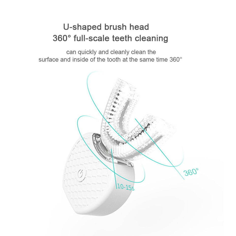 Smart Automatic Ultrasonic Toothbrush - Bourga Zone