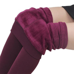 LegLux - Warm Fleece Leggings - Bourga Zone