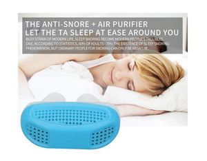 Mini Snoring Device Anti Snore Silicone - Bourga Zone