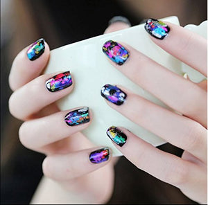 Glitter Glam- Nail Art Stickers - Bourga Zone