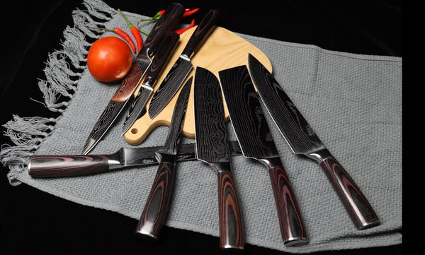 Best 8 Piece Kitchen Knife Set Reviews in 2020 | Letcase